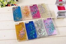 Buy Fashion Dynamic Liquid Glitter Colorful Diamond Star Moon Paillette Sand Quicksand Back Case Cover iPhone 6G 6S Plus 5.5'' for $2.36 in AliExpress store