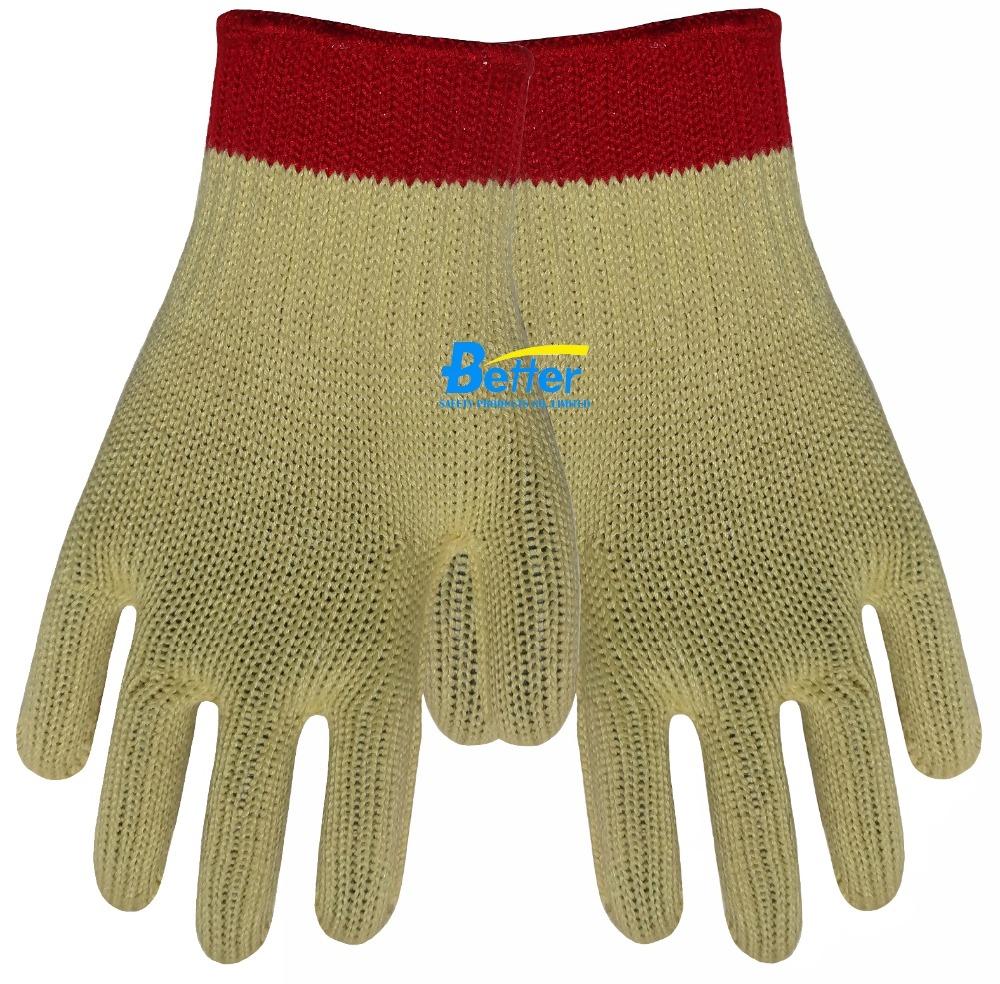 7 Guage Aramid Fiber Working Gloves Cut Resistant Work Gloves HPPE Anti Cut Work Gloves