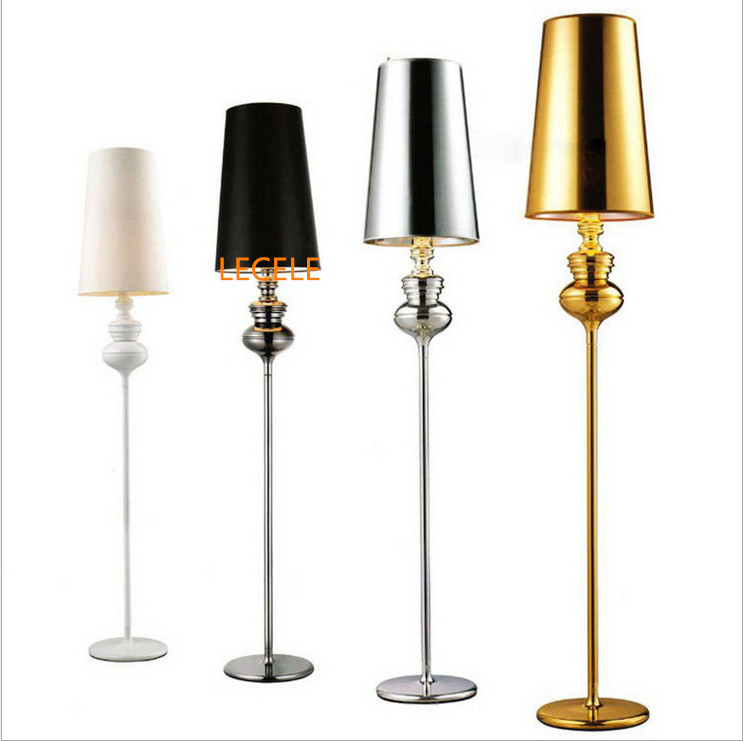 Hot sale new modern floor lamp villas bedside standing for Living lighting floor lamps