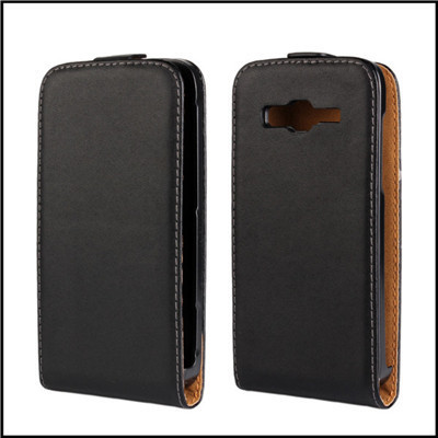 For Samsung Galaxy Core Advance Case Vertical Open Genuine Leather Back Flip Phone Cover For Samsung Galaxy Core Advance i8580(China (Mainland))