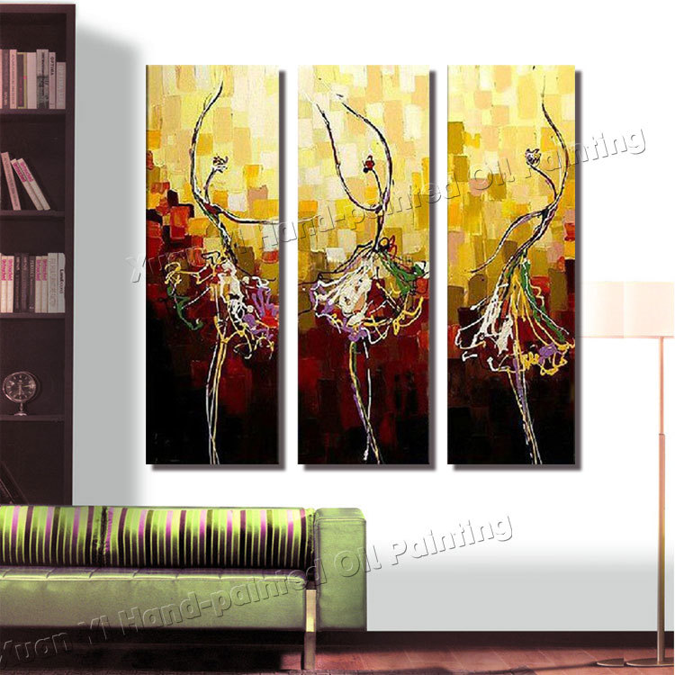 Buy 3 panel paintings large canvas for 3 panel painting