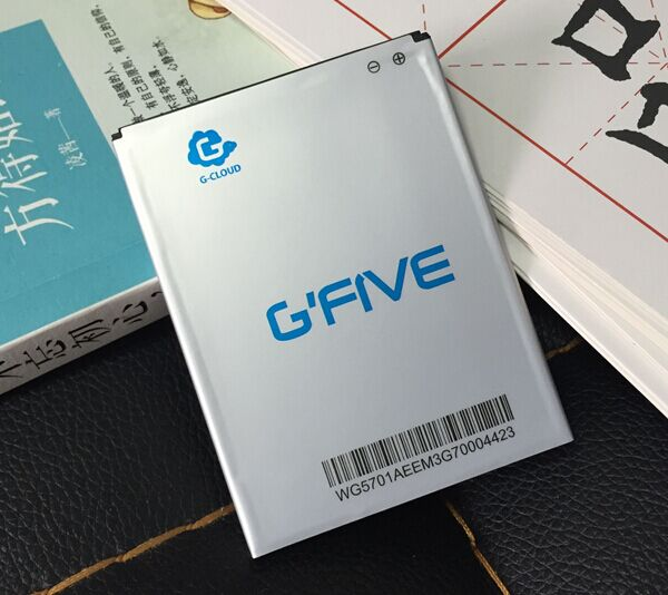 Free Shipping Gfive g9 big battery big 7 g9t mobile phone battery wg5701 2500mah original battery electroplax(China (Mainland))