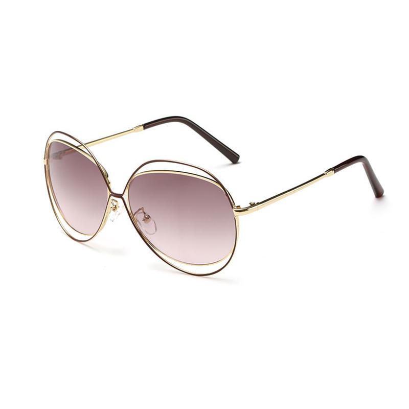 2016 New Hollowing Full metal frame best sunglasses women Vintage LIGHT LIFE eyewear Top Fashion Designer gafas de sol UV400 OEM(China (Mainland))