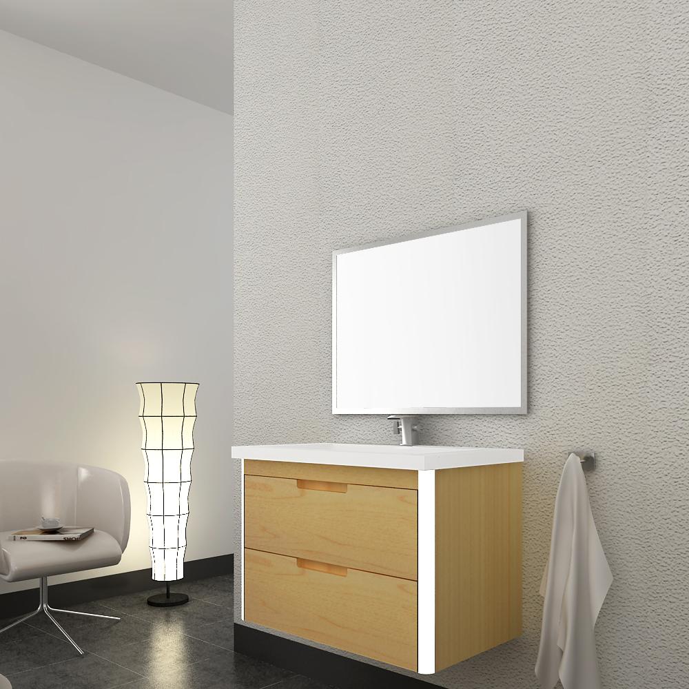 Linkok Furniture 22 inch decorative petite Asian bathroom vanities(China (Mainland))