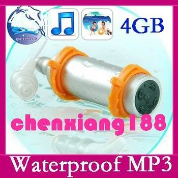 New 4GB Sports Water Swimming Waterproof MP3 Player water resistance Cool  Consumer Electronics