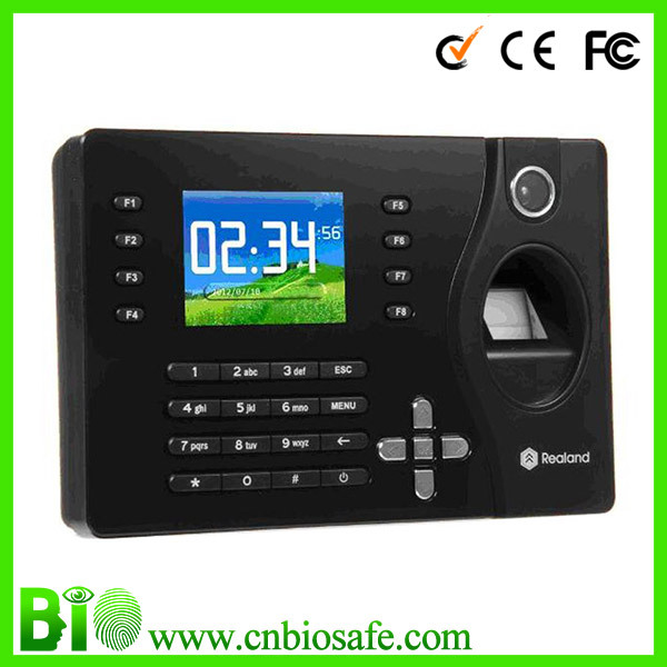 HF-C081 Color Screen Biometric Fingerprint  Punch Card Time Clock Attendance, Low Price,Easy Operation