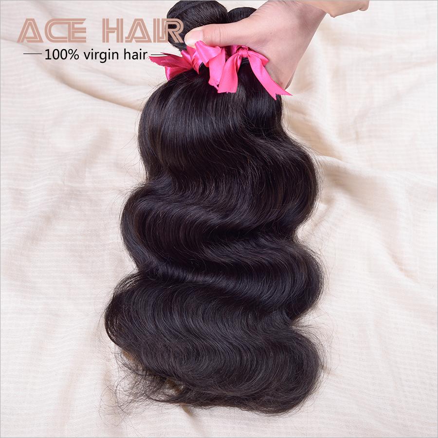 7a Grade Brazilian Virgin Hair Body Wave 3pcs,Brazilian Hair Weave Bundles 100% Human Hair Weaving Natural Hair Extensions