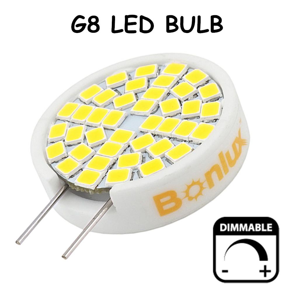 3W Dimmable LED G8 Bulb 25W G8 Halogen Replacement Lamp Ceramic Bi-pin Base LED Light 110V G8 Light for Kitchen Lighting(China (Mainland))