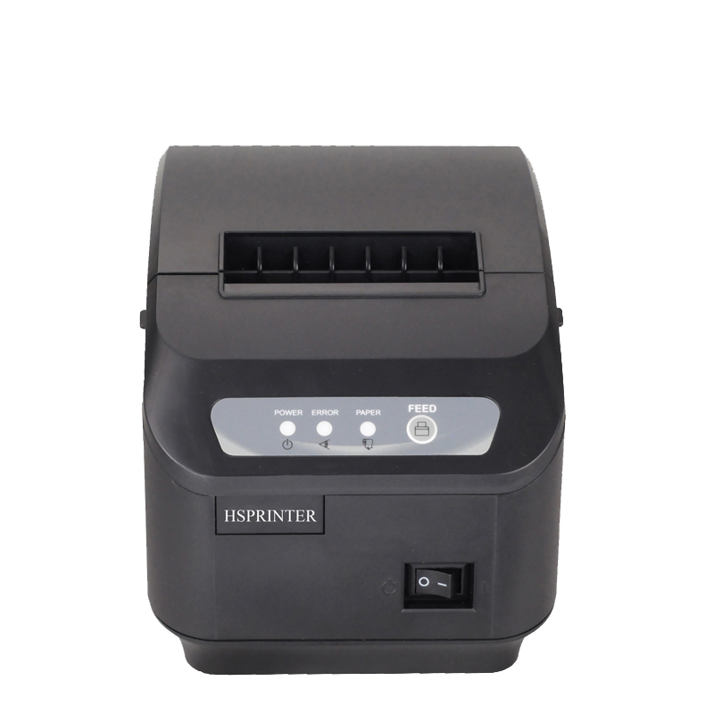 Cheaper 80mm themal receipt Printer with auto cutter USB google cloud POS printer Support Linux, Windows10 systems HS-Q20IUS(China (Mainland))