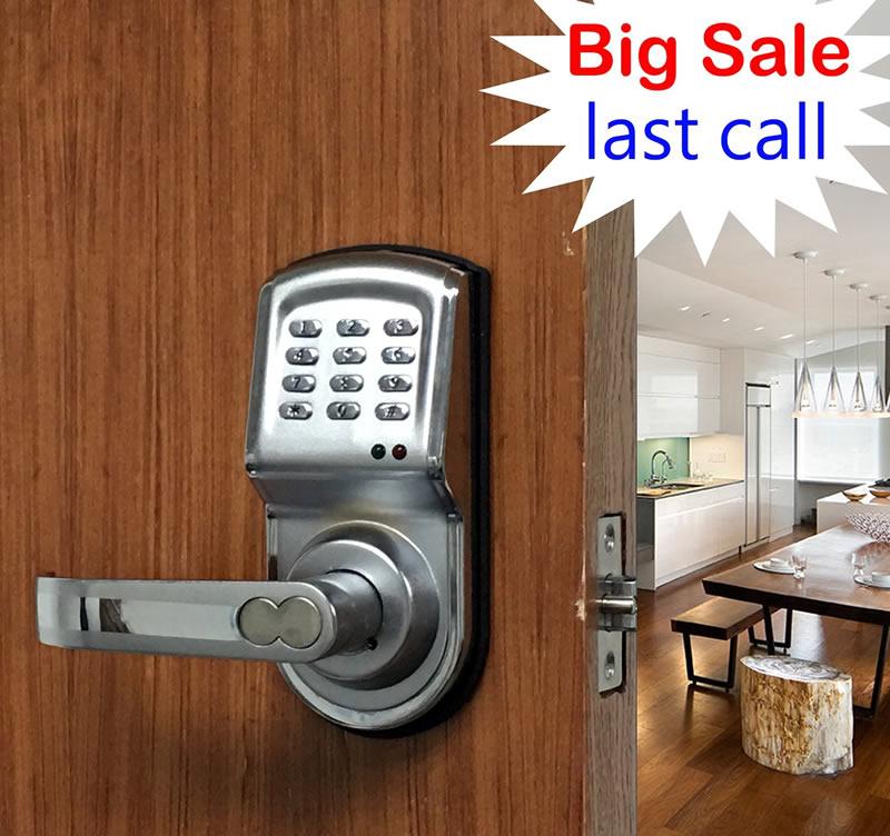 Free-Shipping OS88 electronic password locks Digital Code Keypad single latch Door Lock brand new Password + Key Zinc Alloy(China (Mainland))