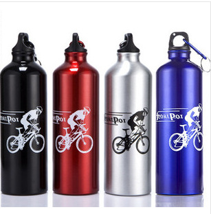 Outdoor Sports Water Bottle 700ml Aluminum Alloy Mountain Bike Bicycle Cycling Bottle Botella De Agua Accesorios Bicicletas mtb(China (Mainland))