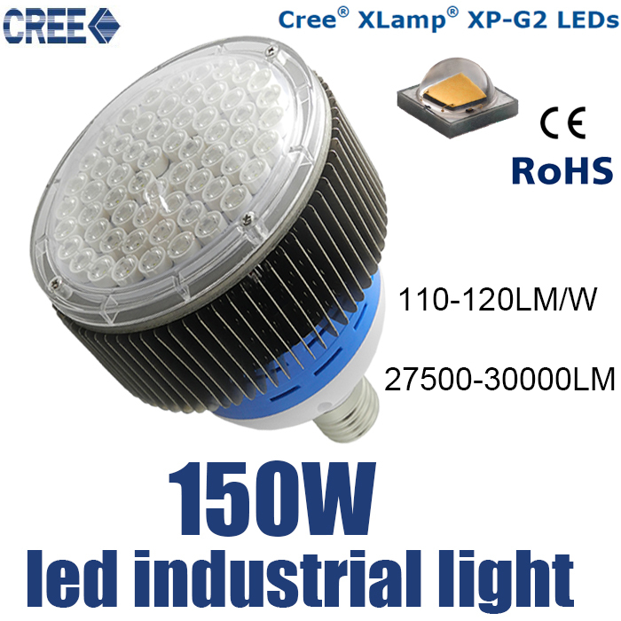 150w cree led Industrial light, led high bay light, lampara industrial led, US CREE chip 120-130lm and with ce power supply<br><br>Aliexpress