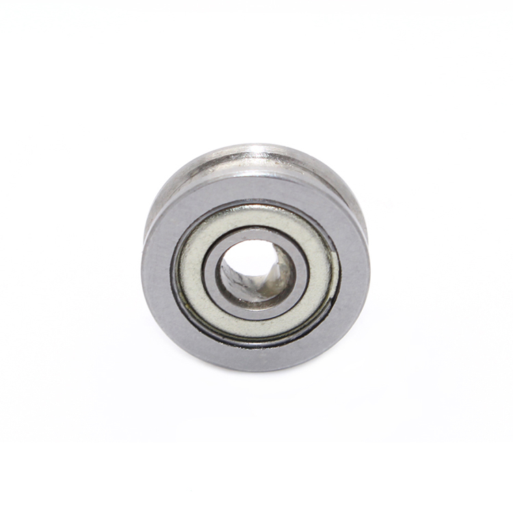 4 13 4 Free Shipping 3D Printer Guide Wheels U Groove 28mm Round Steel Wheel Pulley