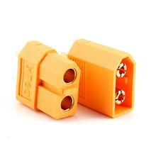 20pcs/lot Wholesale High Quality XT60 XT-60 XT 60 Plug Male Female Bullet Connectors Plugs For RC Lipo Battery Free Shipping(China (Mainland))
