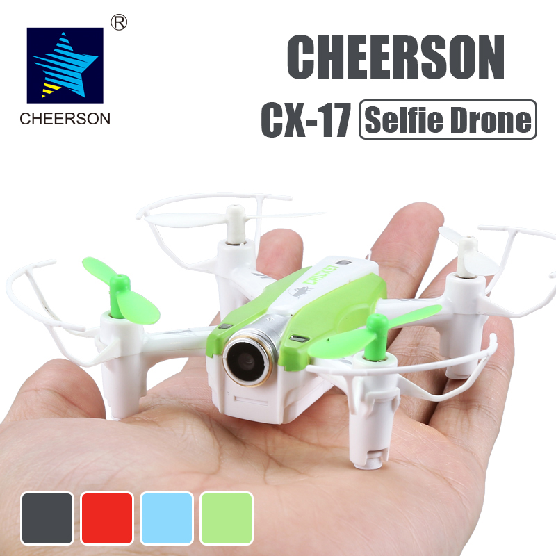 Cheerson CX-17 RC FPV quadrocopter Camera Mini Selfie drone Wide Angle Camera High Hold Mode Pointing Flight RC Drone