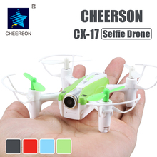 Buy Cheerson CX-17 RC FPV quadrocopter Camera Mini Selfie drone Wide Angle Camera High Hold Mode Pointing Flight RC Drone for $43.90 in AliExpress store