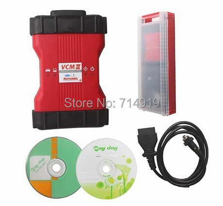 DHL free shipping professional for ford vcm ii ids v86 support VMM&CFR vcm 2 ids Read & Clear Diagnostic Trouble Codes(China (Mainland))