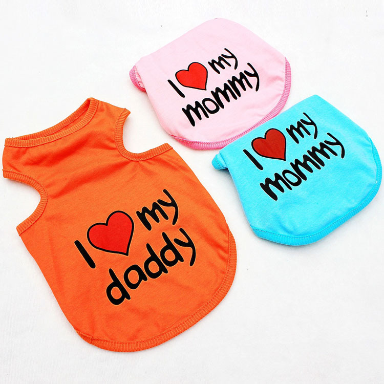 dog clothes dogs clothing pet products animals pets tag brand Dog Vests AHH02