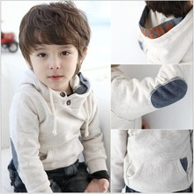 Hot Sale 2015 Autumn Fashion Children Hoodies Boys Long sleeve Pullovers Warm Kids coats boys tops clothing(China (Mainland))