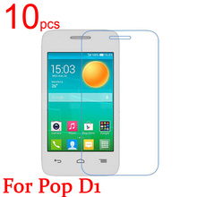 1glossy/Matte/Nano anti-Explosion LCD Screen Protector Film Cover Alcatel One Touch Pop D1 OT 4018 + cloth - EDG Digital Technology store