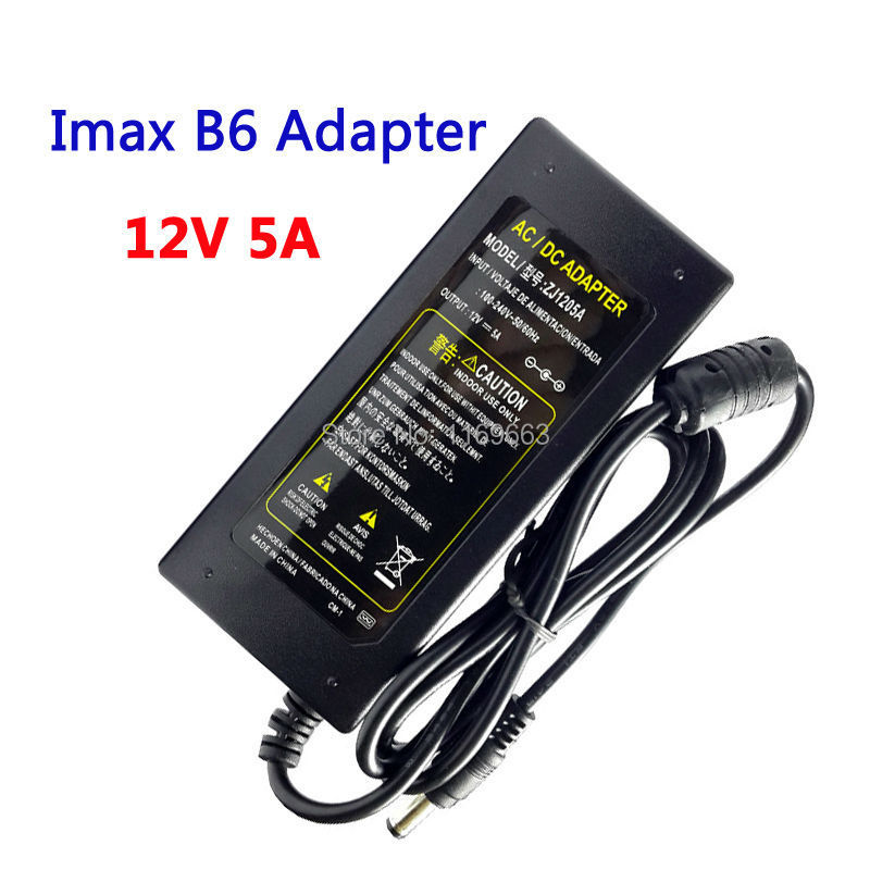 Free Shipping 12V 5A AC/DC  Imax B6 Power Supply Adaptor for Battery Balance Charger With EU/US/AU/UK Plug<br><br>Aliexpress