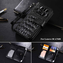 PU leather Case For Lenovo S8 A7600 Phone Case Flip Cover For Lenovo S8 A7600 Business Wallet Style Cover