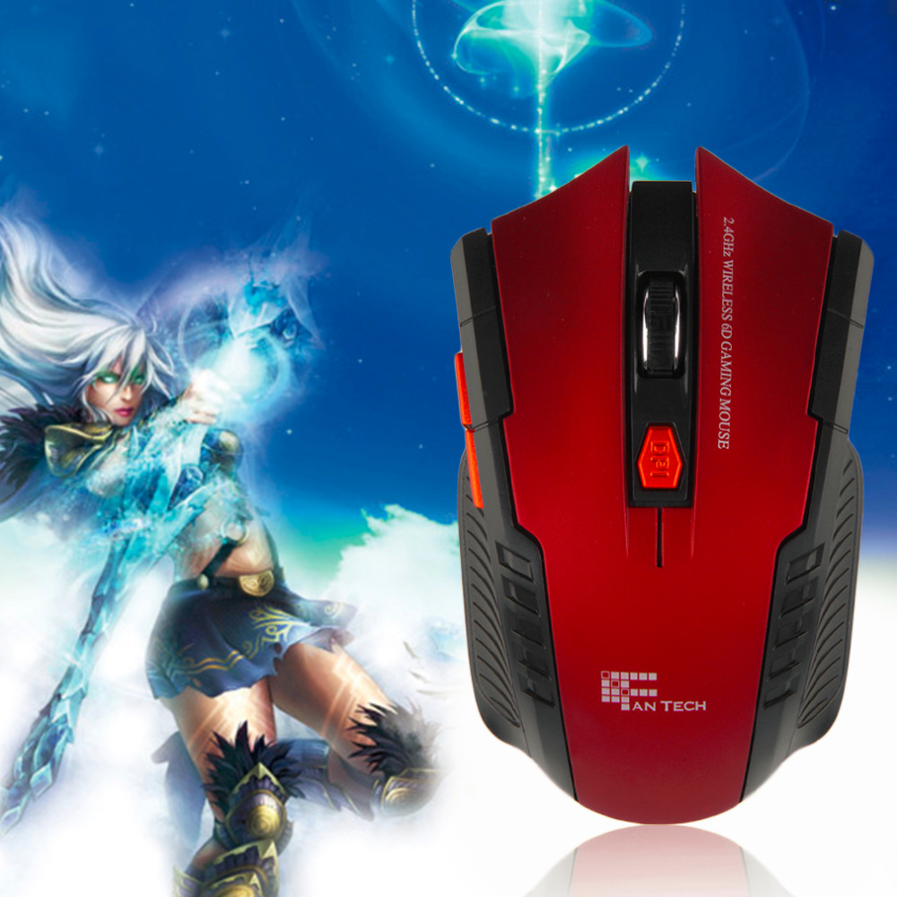 New Mini portable Wireless 6D Optical Gaming Mouse Mice For PC Laptop(China (Mainland))