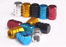4Pcs/lot Universal Auto Bicycle Car Tire Valve Caps Tyre Wheel Hexagonal Ventile Air Stems Cover Airtight rims Accessories(China (Mainland))