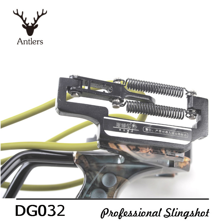 Antlers Slingshot Hunting Powerful Catapult Camouflage Military Super Powerful Wrist tirachinas caza for Outdoor Hunting