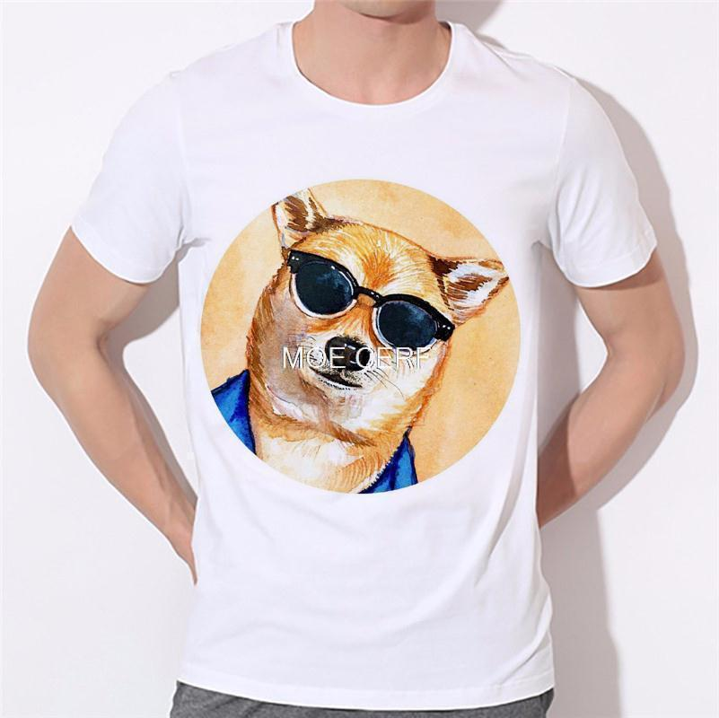 Moe Cerf Dogs Pug Tops Tees Shirt Hot Sale T Shirts Men Game Of Thrones 3D Man T-shirt Star Wars O Neck Mens t shirt B-137#  HTB1K9ilKVXXXXbxXFXXq6xXFXXXu