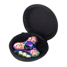 Buy Rainbow Tri-Spinner Fidget Spinner Hand Spinner Torqbar Brass Ceramic Bearing Rotation Time Long Anti Stress Toys Focus Gyro Toy for $6.88 in AliExpress store
