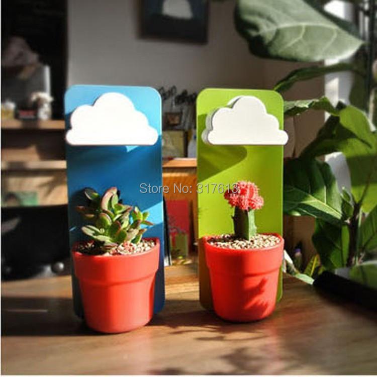 Creative Wall Mount Rainy Pot Rainning Flower Pot-in Flower Pots ...