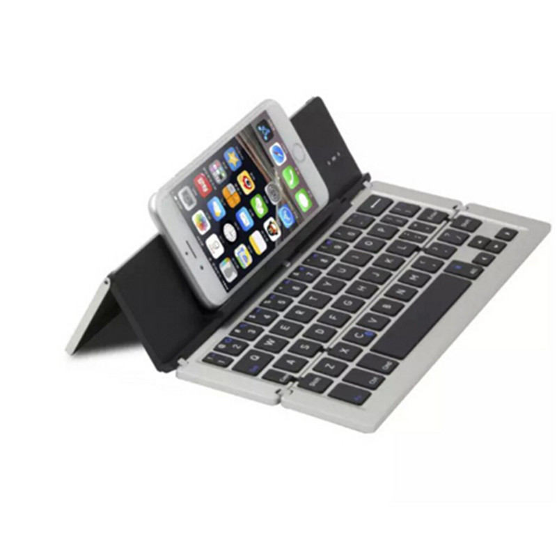 Universal Mini Wireless Bluetooth 3.0 Folding Foldable Keyboard for iPhone iPad iOS Android Smartphone Tablet(China (Mainland))