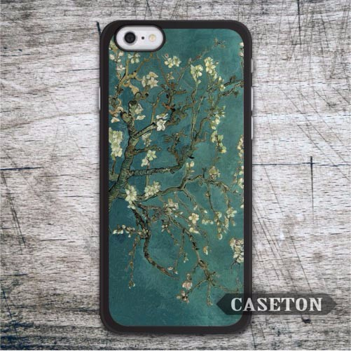 Retro Van Gogh Flower Painting Case For iPod 5 and For iPhone 7 6 6s Plus 5 5s SE 5c 4 4s Vintage Classic Oil Paint Cover