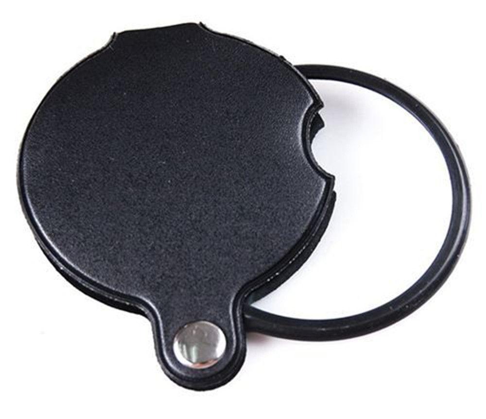 Здесь можно купить  Wholesale 100pcs Pocket Folding Mini Magnifying Glass Jewlery Optical Lenses Magnifier 8x Magnification Lupa 50PT     Инструменты