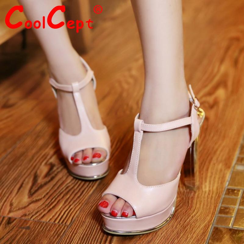 women ankle strap stiletto peep open toe high heel sandals sexy fashion ladies heeled footwear heels shoes size 32-43 P17358<br><br>Aliexpress