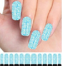 Free shipping  25sheets environmental and healthy water nail decals full cover nail water transfer tattoo sticker 07