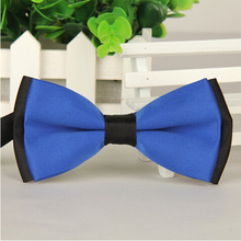 1 piece fashion brand bow tie polyester silk butterfly adjustable wedding bowtie bow ties for men