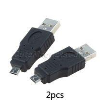 2 шт. / много для MP3 телефонов USB 2.0 A вилочная часть на телефон микро-карты вилочная часть вилка F / M адаптер преобразователь