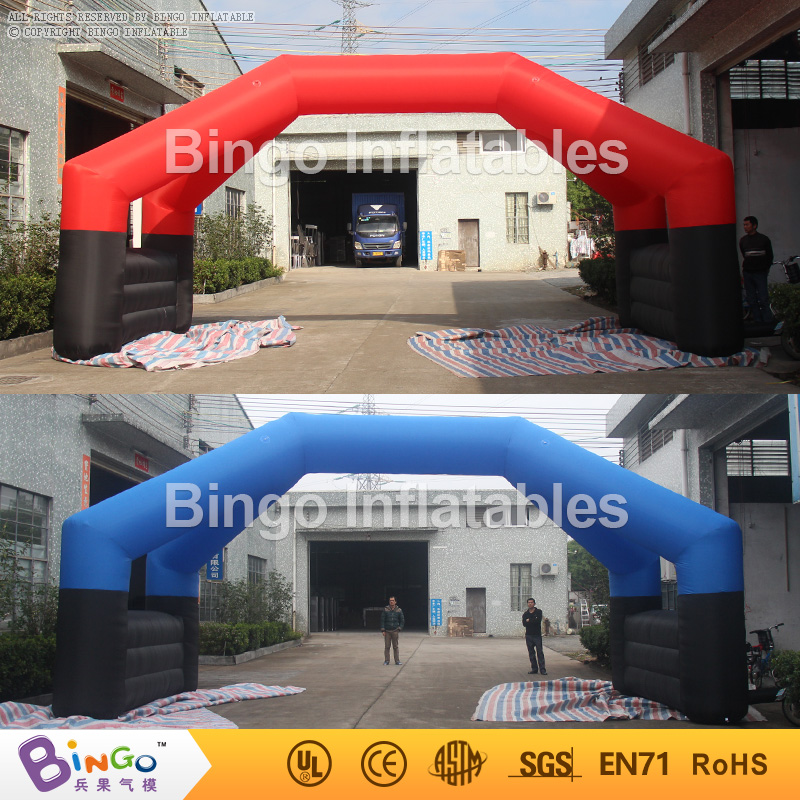 inflatable arch removable banners advetising 8m long wide,advertising arch double pillars BG-A0934 toy
