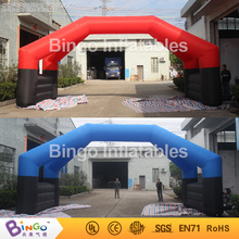 Buy inflatable arch removable banners advetising 8m long wide,advertising arch double pillars BG-A0934 toy for $780.00 in AliExpress store