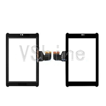 Hot Sell  Outer Glass Sensor Panel Capacitive Touch Screen For ASUS Fonepad 7 ME372 ME372CL ME372CG Black