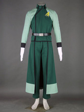 Gundam SEED 00 LAWS mens uniform anime cosplay halloween costumes