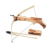 Safe Wooden Arrow Quiver Kid Child Weapon Cross Bow Toy Gun Archery Crossbow Children Kid's Toys Free Shipping(China (Mainland))