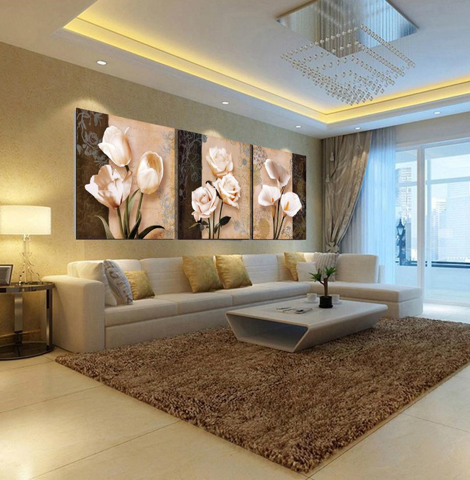 Imagem home decor pinturas wall art pintura leo sobre - Pinturas modernas para sala ...