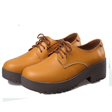 New Spring Women Shoes Black Leather Peep Toe Platform High Heel Gladiator Sandals Chunky Thick Heel(China (Mainland))