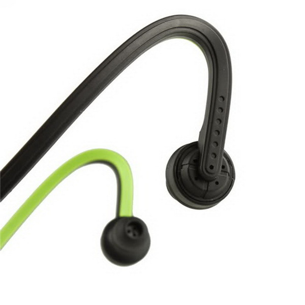 1pc USB Sport Running MP3 Music Player Headset Headphone Earphone TF Slot Newest And Wholesale 2016