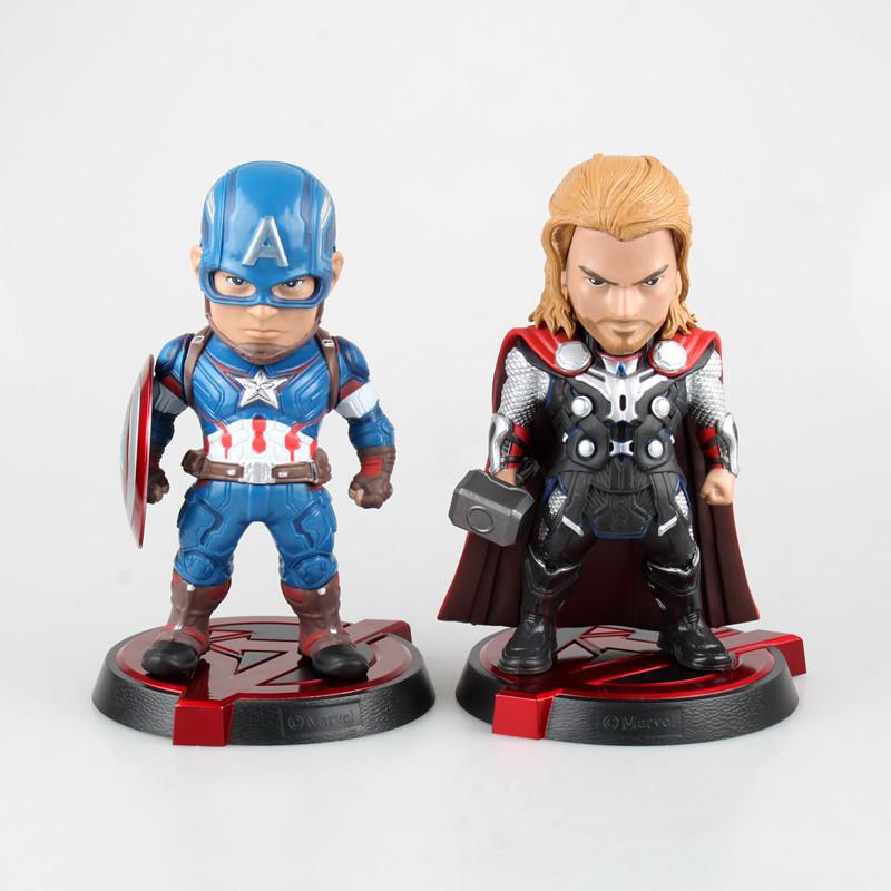 Аниме нападение яйцо игрушки Мстители 2 капитан Австрийской бытие Тор Америка коробку руку сделать