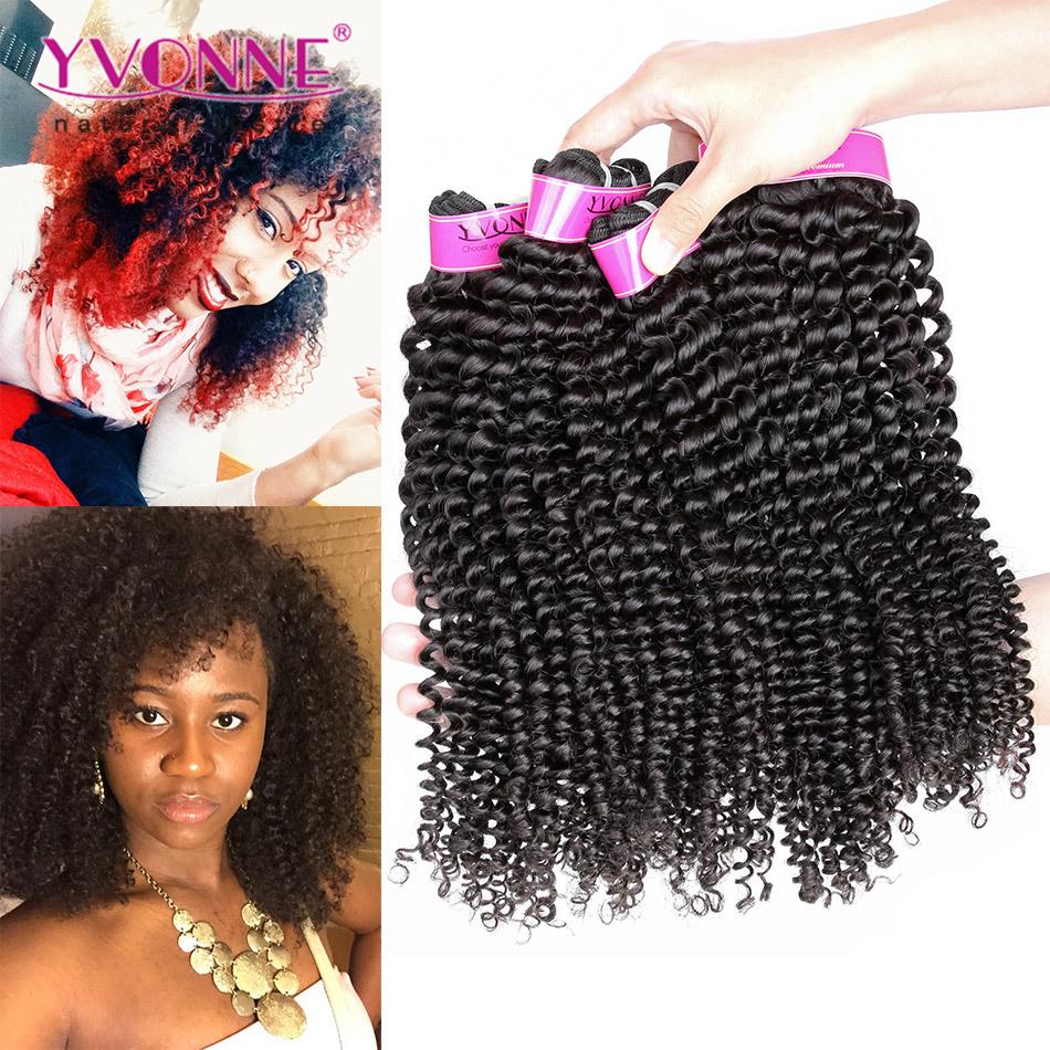 Yvonne Brazilian Kinky Curly Virgin Hair,3Pcs/lot Brazilian Hair Weave Bundles ,8-28 Inches Top Quality Aliexpress Hair Products(China (Mainland))