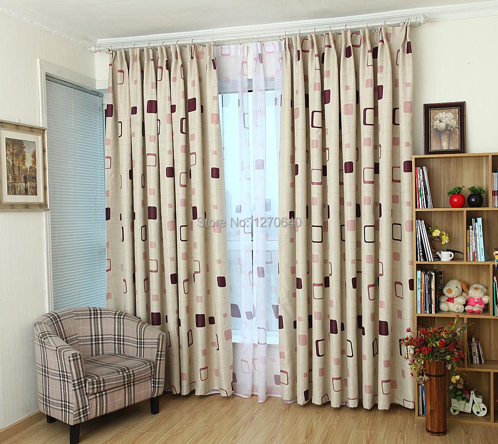 Livraison gratuite moderne motifs rideau pour le salon for Rideau pour fenetre de salon